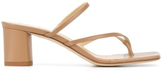 AEYDĒ Larissa 65mm heeled sandals