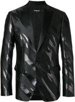 DSQUARED2 Tiger Flash blazer - men - Silk/Polyester - 48