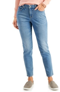 Style&Co. Style & Co Curvy-Fit Tummy-Control Skinny Jeans, Created for Macy's
