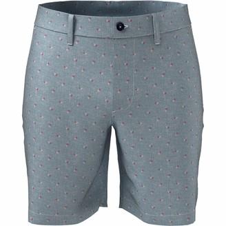Original Penguin Slim Fit Geo Print Linen Blend Short