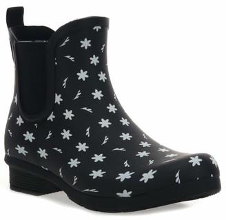 Chooka Women's Waterproof Printed Chelsea Boot Rain