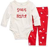 Okie Dokie 2-pc. Christmas Bodysuit Set-Baby