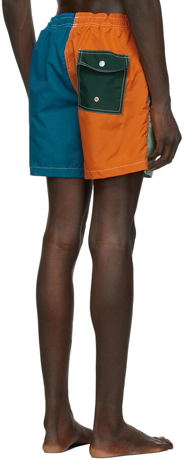 Thumbnail for your product : Bather Multicolor Solid Swim Shorts