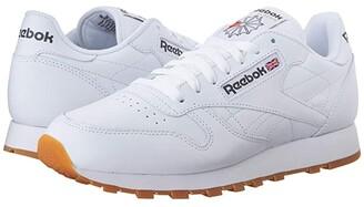 Reebok Classic Leather (White/Gum) Men's Classic Shoes