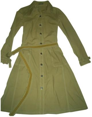 Barbara Bui Khaki Cotton Dress for Women