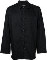 Yohji Yamamoto classic shirt - men - Cotton/Linen/Flax - 2