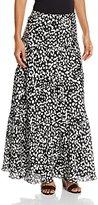 Kasper Women's Dot Printed Maxi Skirt