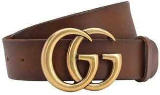 Gucci 4cm Gg Leather Belt