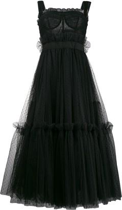Dolce & Gabbana Tiered Midi Dress