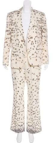 Krizia Wool Pantsuit