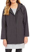 Eileen Fisher Organic Cotton Long Jacket