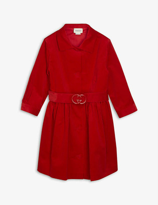 Gucci Belted corduroy dress 4-12 years