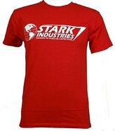 Marvel Iron Man Stark Industries T-shirt (Extra Large, )