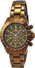 toywatch chrono metallic olive watch