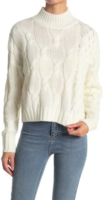 360 Cashmere Elyse Cable Knit Sweater