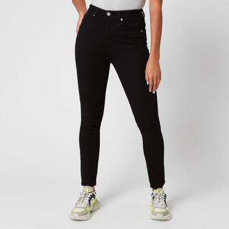 Calvin Klein Jeans Women's 010 High Rise Skinny Jeans