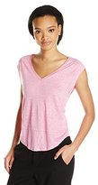 C&C California Women's Linen Muscle Tee