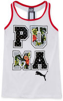 Puma Paradise Graphic Print Tank Top - Girls