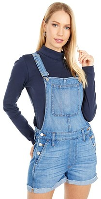 Madewell Adirondack Short Overalls in Denville Wash (Denville Wash) Women's Jumpsuit & Rompers One Piece