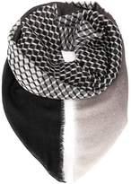 Pierre Hardy cube print scarf
