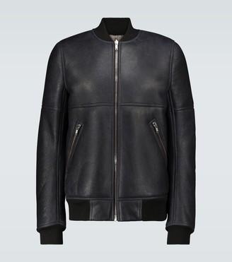 Rick Owens Reversible leather bomber jacket