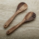 Crate & Barrel Tondo 2-Piece Serving Set