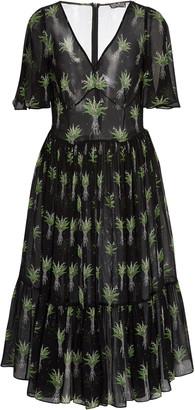 Lena Hoschek Melancholia Printed Midi Dress