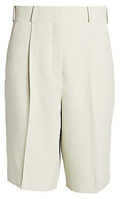 Acne Studios Women's Ruthie Light Summer Wool-Blend Shorts