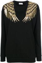 RED Valentino wing print sweatshirt - women - Cotton/Polyamide - XS