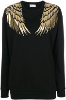 RED Valentino wing print sweatshirt