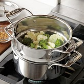 All-Clad d5 Stainless-Steel 3-Qt. Steamer Set