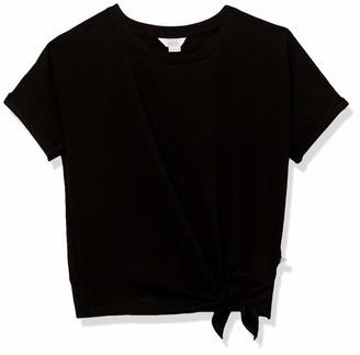 Danskin Women's Light Terry Short Sleeve T-Shirt