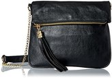 Del Mano Cross Body with Zipper Flap Opening Cross Body Bag