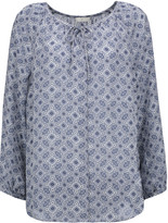 Joie Sofina printed silk blouse