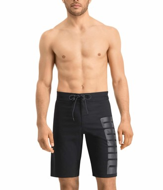 Puma 100000033200050 Swim Men Long Board Shorts 1P Colour: Black Size: XXL