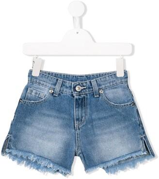 Chiara Ferragni Kids Flirting denim shorts