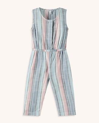 Splendid Toddler Girl Woven Stripe Jumpsuit