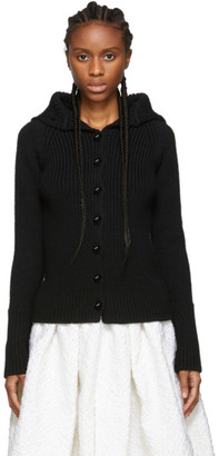 Loewe Black High Neck Cardigan