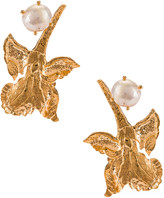 Christie Nicolaides Earrings in Gold | FWRD