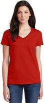 Gildan Heavy Cotton Ladies' V-Neck T-ShirtL 5V00L