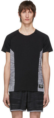 Missoni Adidas X adidas x Black Wool Cru T-Shirt