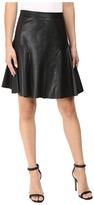 Rebecca Taylor Vegan Leather Skirt Women's Skirt