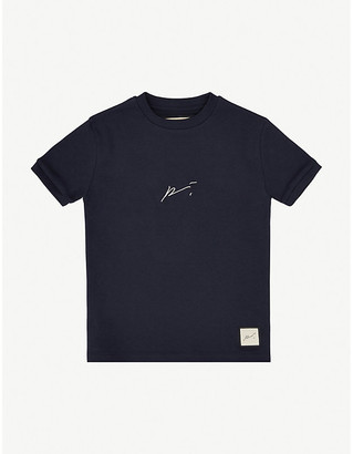 Prevu Logo-embroidered cotton T-shirt 4-14 years