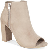 Material Girl Carena Peep-Toe Booties, Only at Macy's