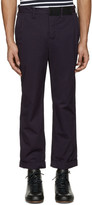 Sacai Navy Overdyed Trousers