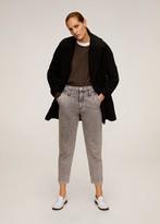 MANGO Structured wool coat
