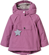 Mini A Ture Mini-A-Ture Pink Wang Anorak with Pointed Hood