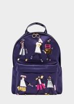 Versace Crystal Doll Satin Backpack