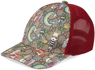 Gucci Children's Yuko Higuchi baseball hat