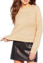 Gianni Bini Star Sparkle Eyelash Sweater